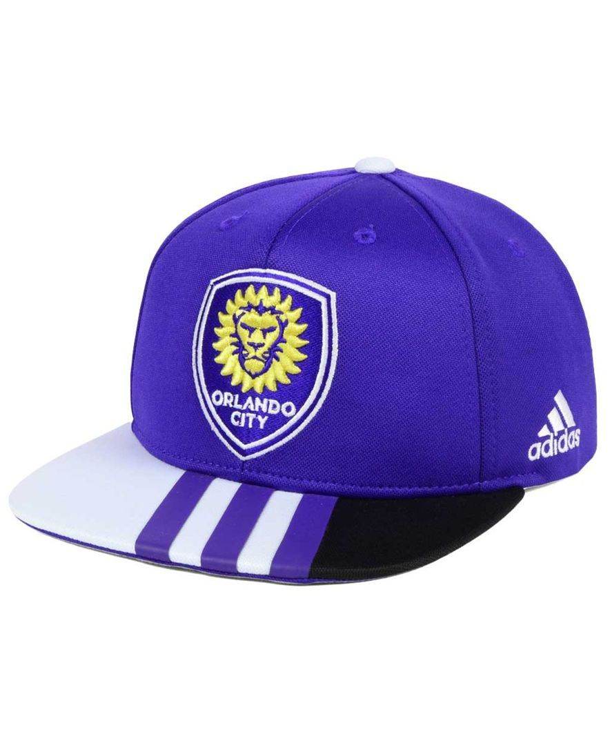 buy online 6e934 a227b The adidas Mls kids  Authentic snap cap brings Major League Soccer on home!  With a high crown and adjustable snapback closure, this Mls soccer hat  helps ...