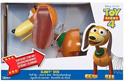 Amazon Com Slinky Disney Pixar Toy Story 4 Dog Toys Games