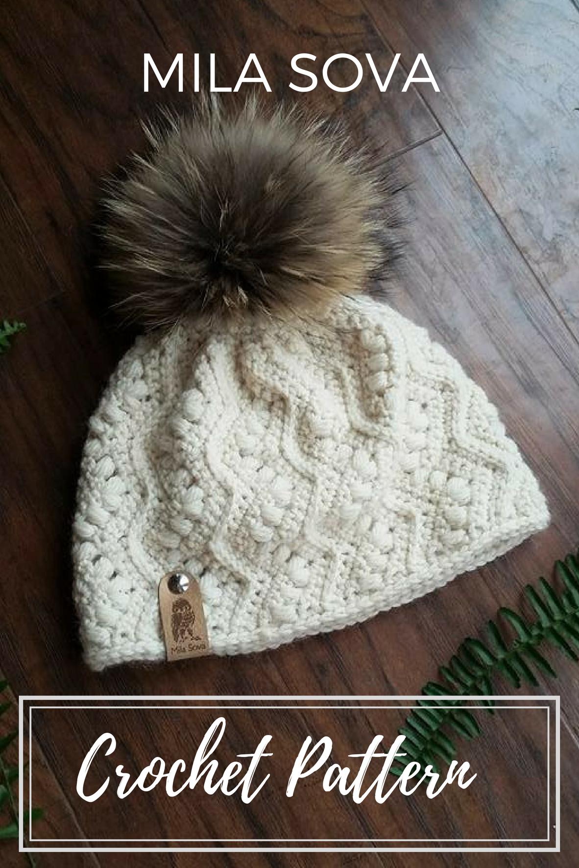Nº33 Crochet Slouchy Beanie - Crochet PATTERN | Pinterest | Crochet ...