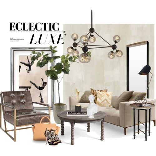 Eclectic luxe... by gloriettequartet on Polyvore featuring ...
