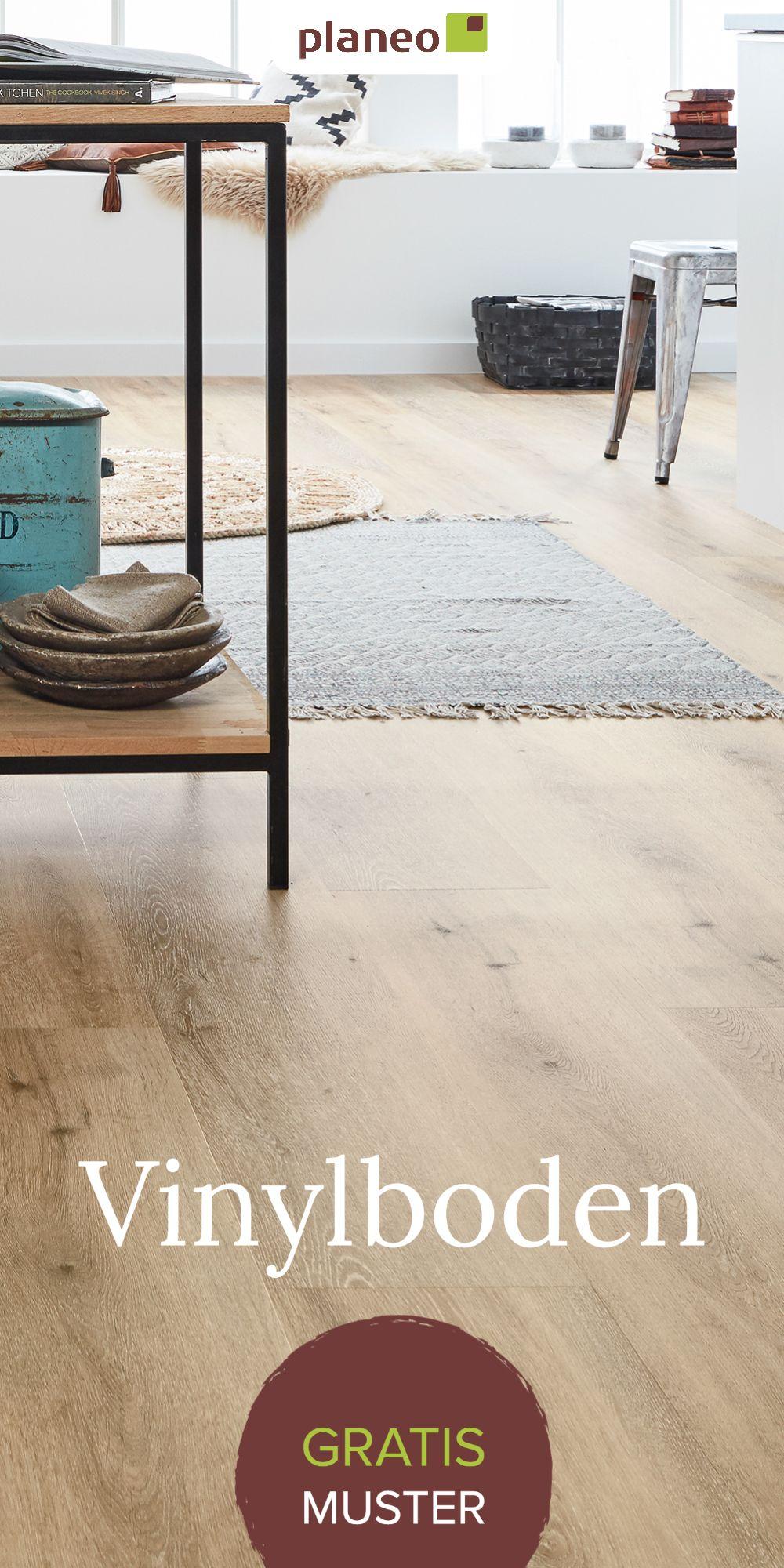 Vinylboden und Designboden – Ausführungen in  Holzoptik, Fliesenoptik, Landhausdiele, Grau u.v.m.