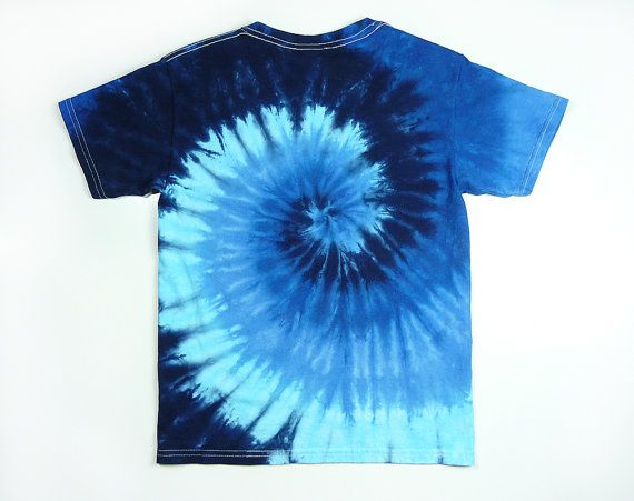 132a2368fa8 Blue Tie Dye Shirt   Adult Mens T Shirt Including Plus Sizes