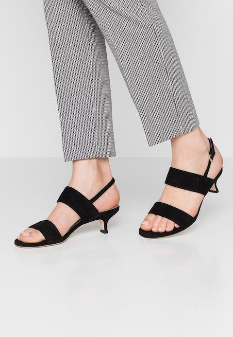 new authentic nice shoes outlet boutique Sandals - schwarz @ Zalando.co.uk 🛒 | Shoes | Sandals, Heeled ...