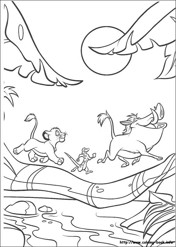 The Lion King Coloring Picture King Coloring Book Jungle Coloring Pages Lion Coloring Pages