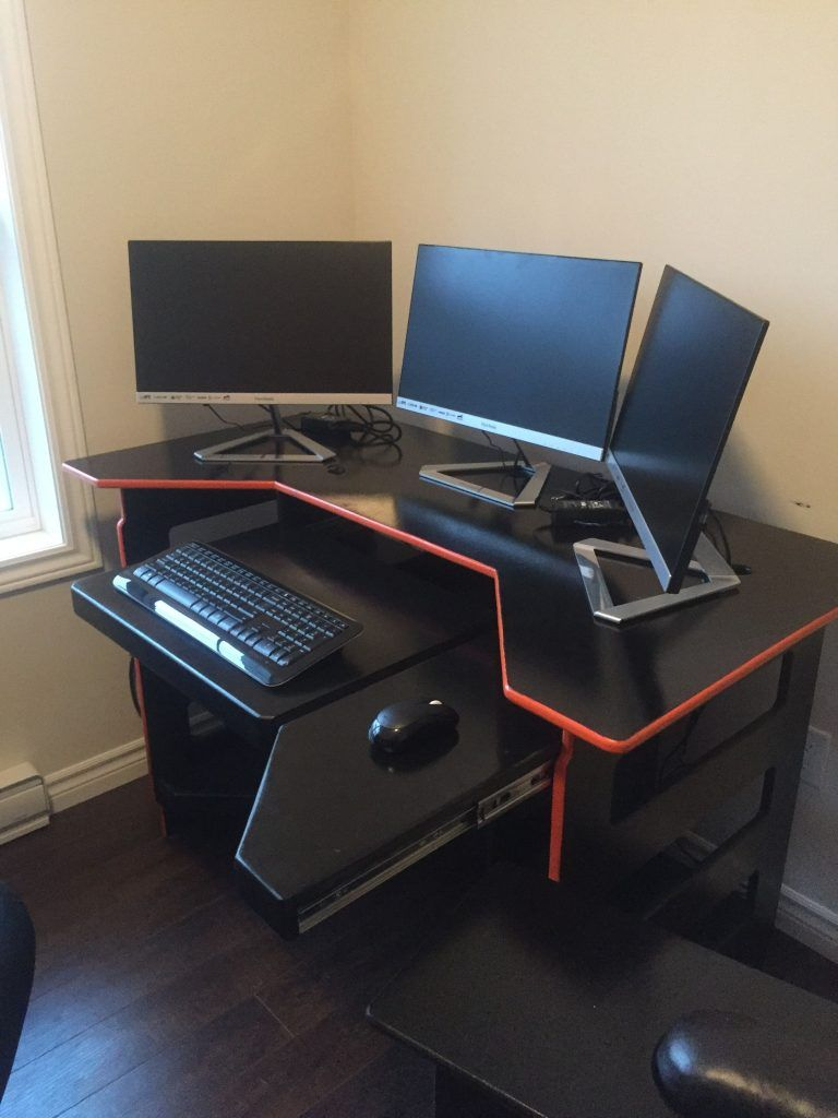 Bureau Gamer Meuble Diy Computer Desk Ideas Business Pc Bureau Meuble Ordi