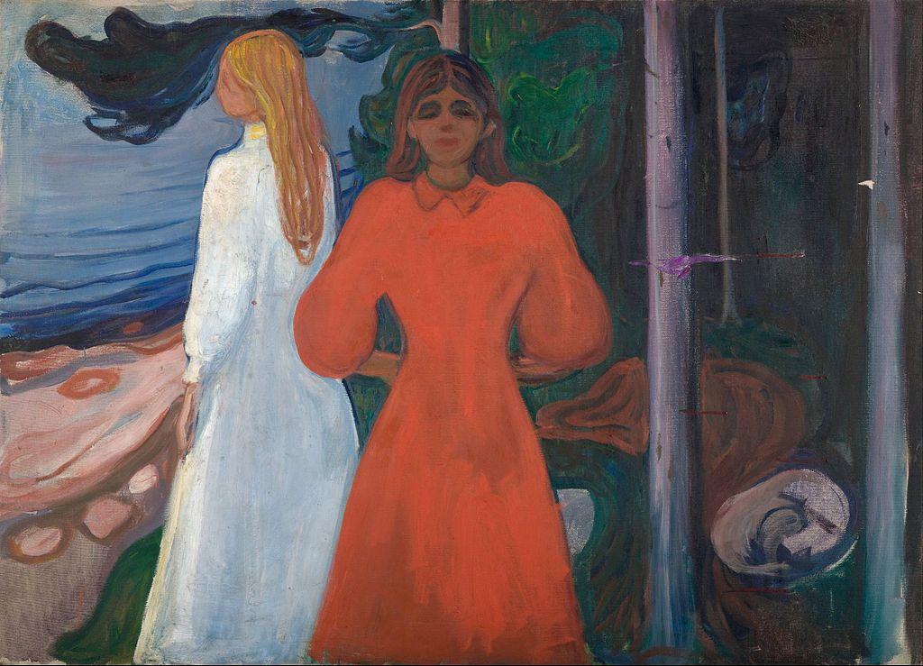 Edvard Munch Red And White Google Art Project Edvard Munch