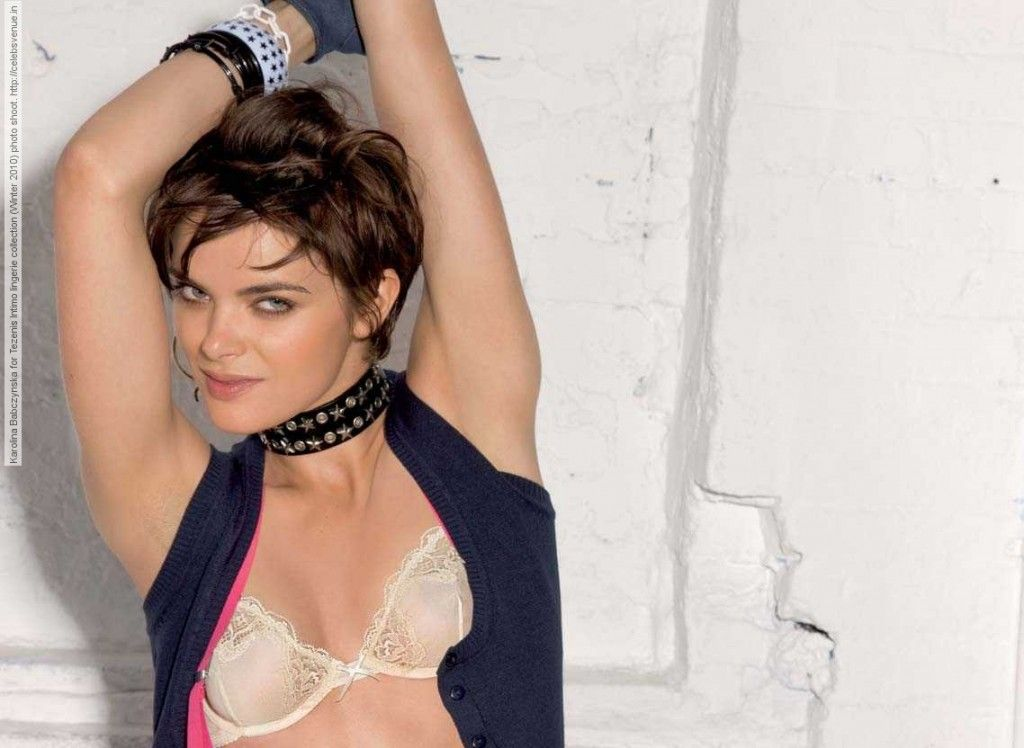 Karolina Babczynska for Tezenis Intimo lingerie collection ...