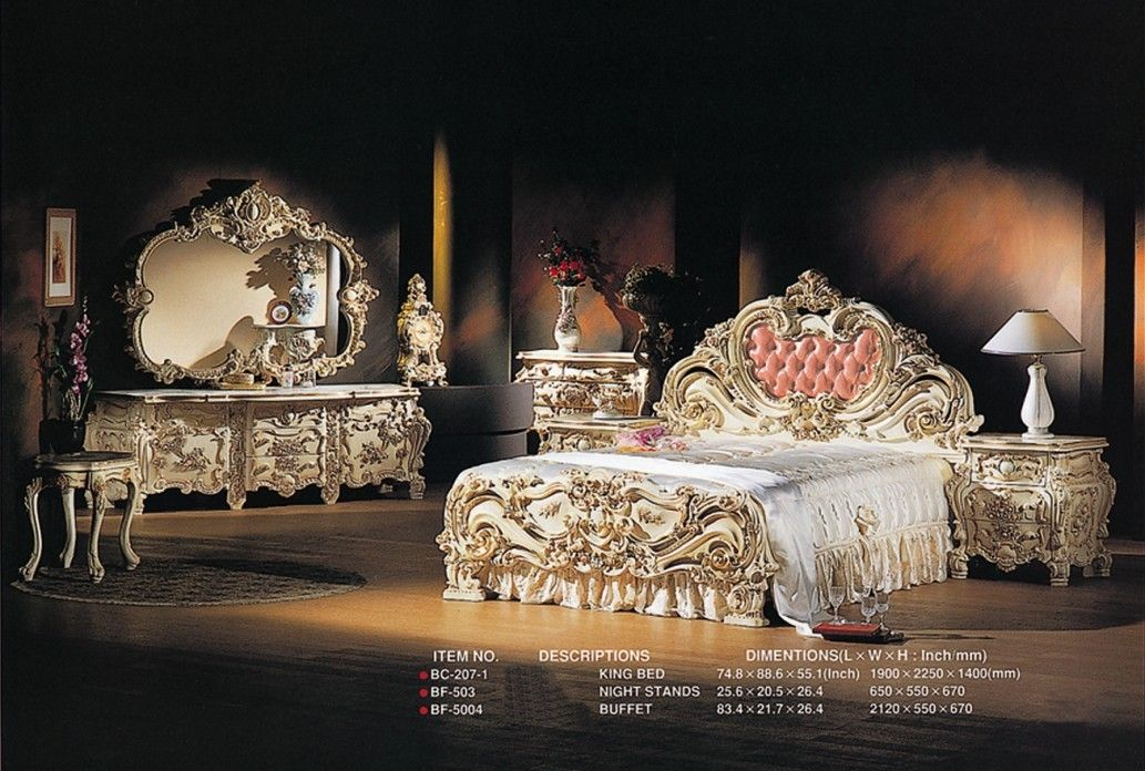 Image Detail for - Bedroom Set (KSF-LXB-001) - China Luxury Bedroom ...