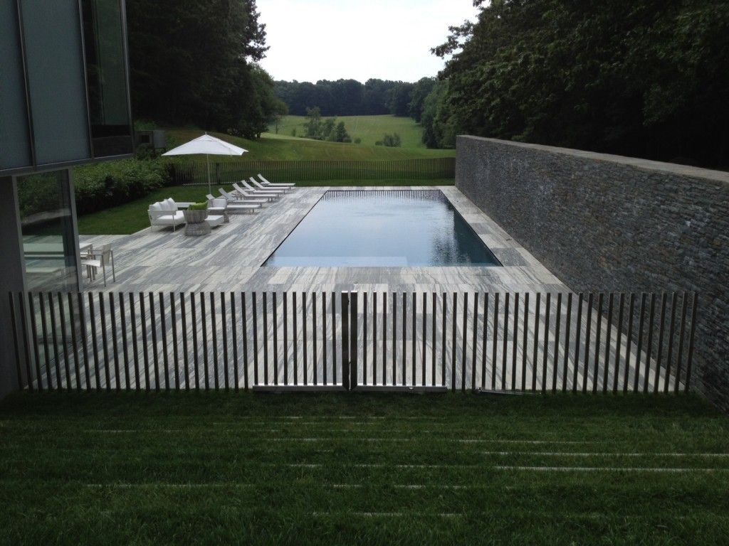 Custom stainless steel fence design outdoor ideas pinterest ideas for inground above ground swimming pool fencing for your garden or backyard including removable perimeter and interior pool fence baanklon Images