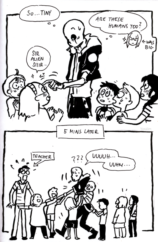 Pin By Raven Undertale On Sans X Frisk Comics