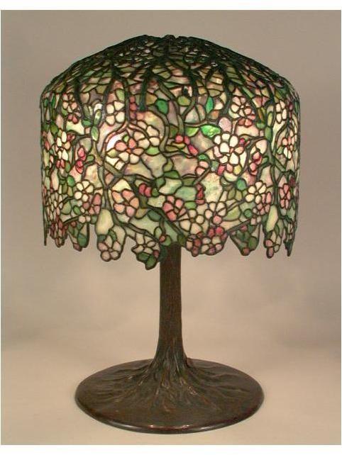 Apple Blossom Table Lamp C 1901 1906 Tiffany Studios
