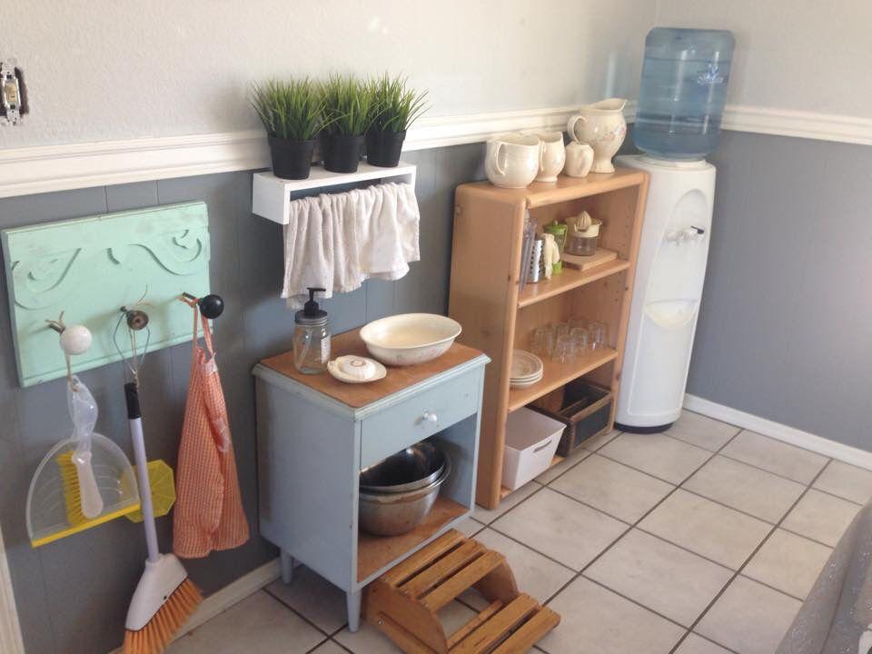 Montessori Kitchen Setup Home Pinterest Montessori Montessori