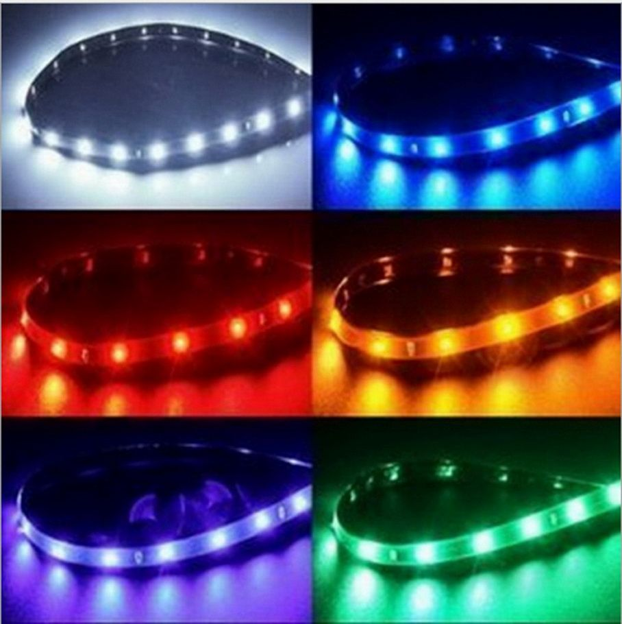 Waterproof car auto decorative flexible led strip highpower 12v waterproof car auto decorative flexible led strip highpower 12v 30cm 15smd car led daytime running light mozeypictures Gallery