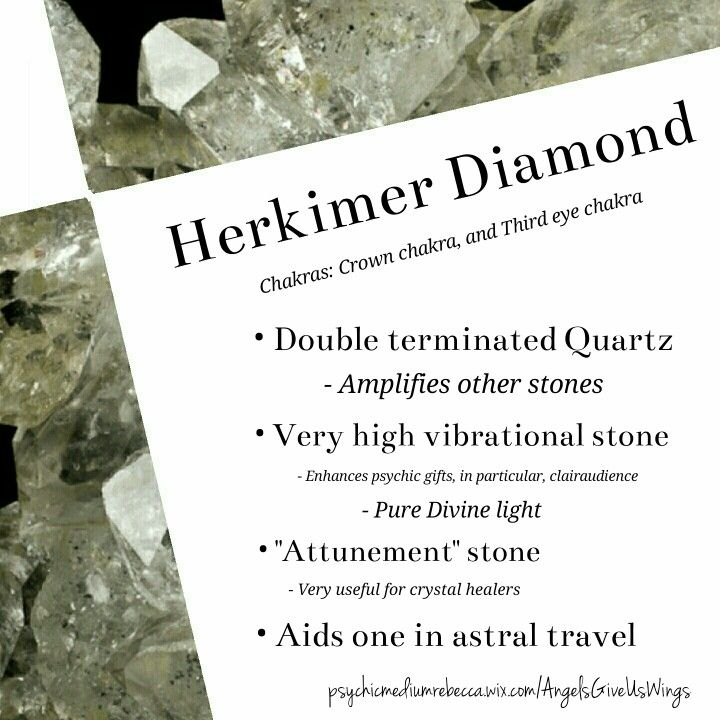 Herkimer Diamond Meaning Healing Stones