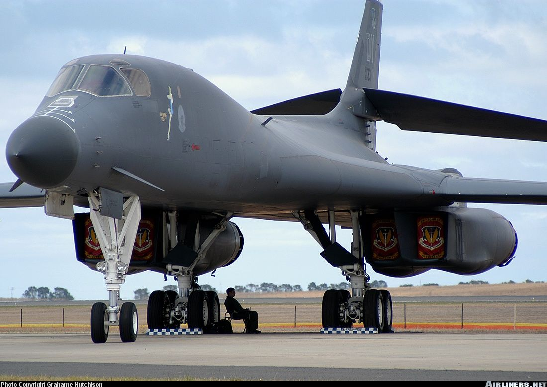 B1B Lancer Bomber, I worked at a plant that made parts