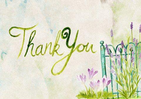 Grazie, Saluto, Carta, Messaggio