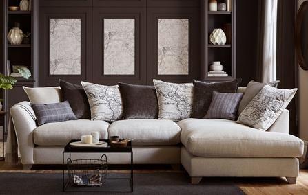 Columbus Left Hand Facing Arm Medium Corner Sofa Columbus | Dfs | Pinterest  | Dfs, Dfs Fabric Sofas And Corner