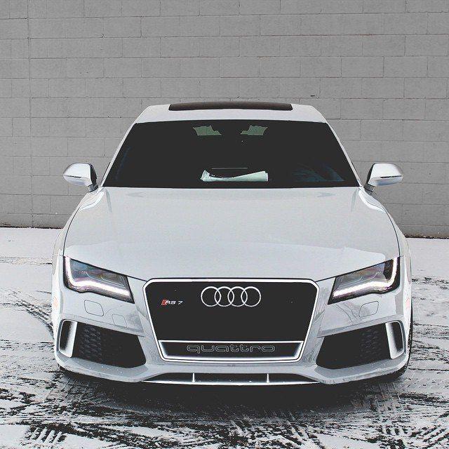 White Pearl Audi RS7 Photo Image 2018