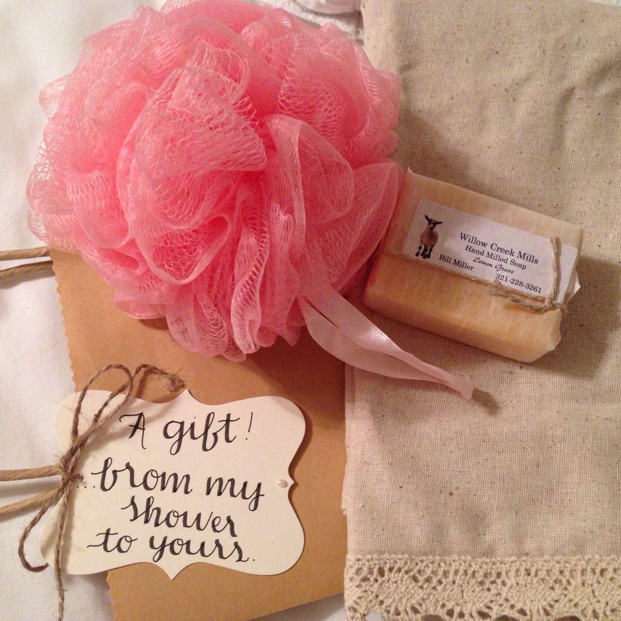 """Cute Wedding Gift Ideas: Cute Gift Idea For Wedding Shower Guests! """"A Gift From My"""