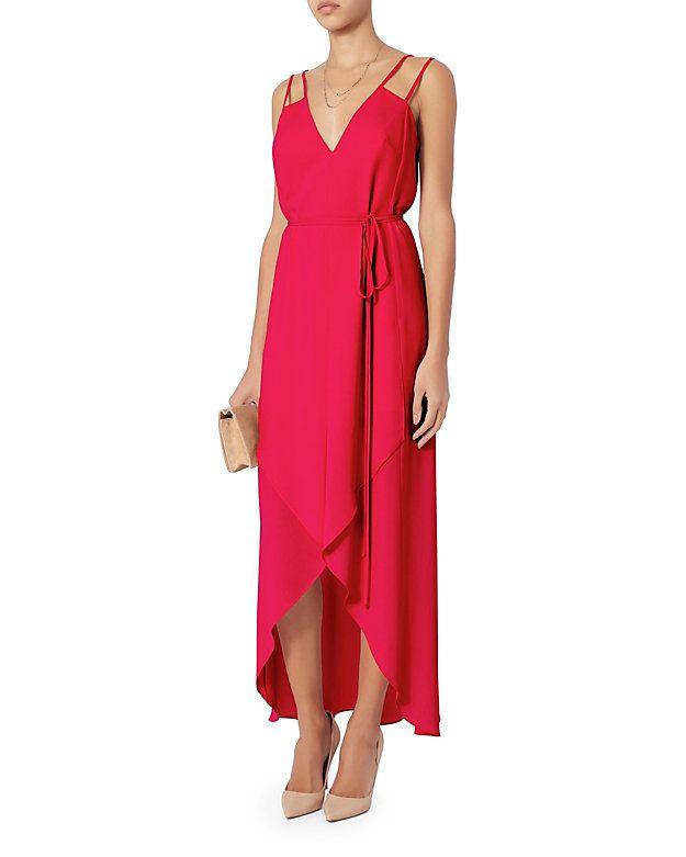 Exclusive for Intermix Nayara Hi/Lo Maxi Dress