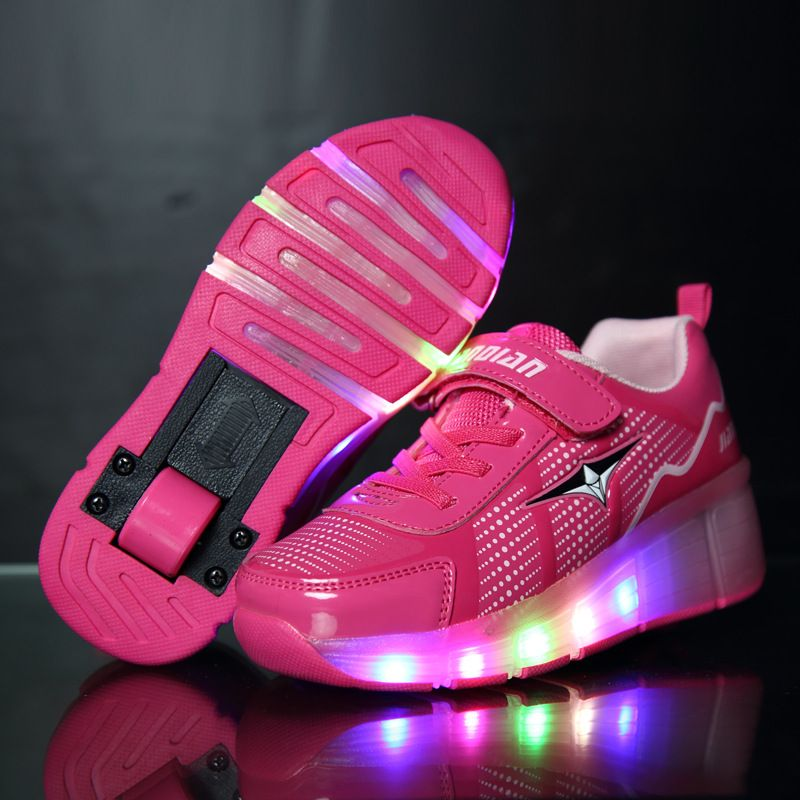 Kids shoes Children Roller Shoes Sneakers With Wheel BoyGirl ...