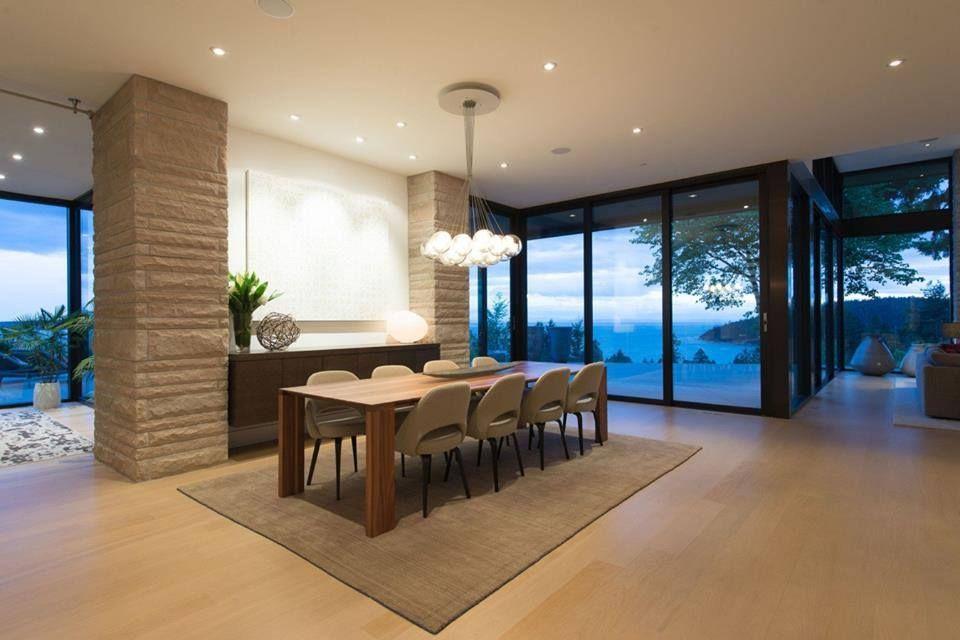 Elegant Modern House In West Vancouver Canada ARQUITETURACASAS - Burkehill residence canada