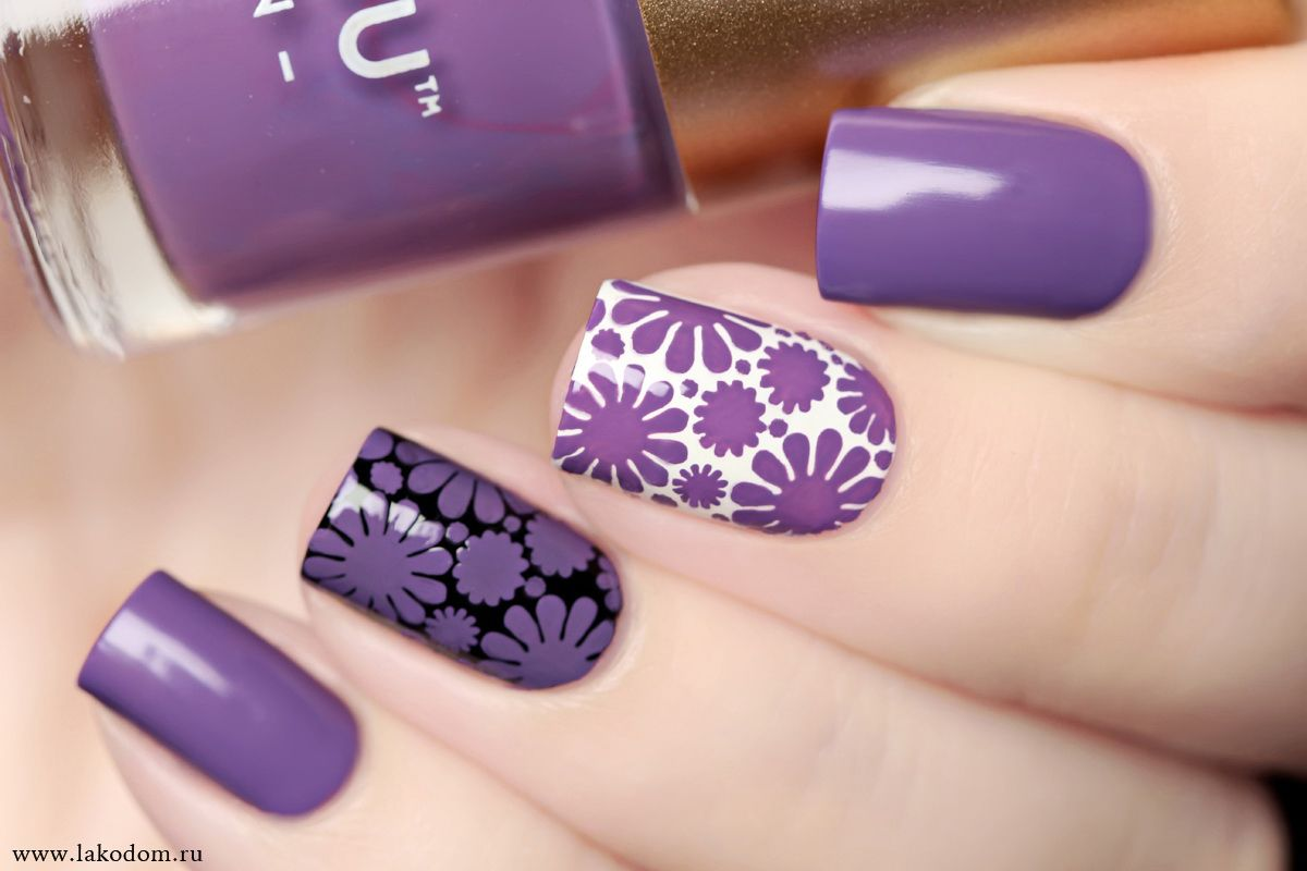 Purple love diseño de uñas pinterest manicure opi and fall