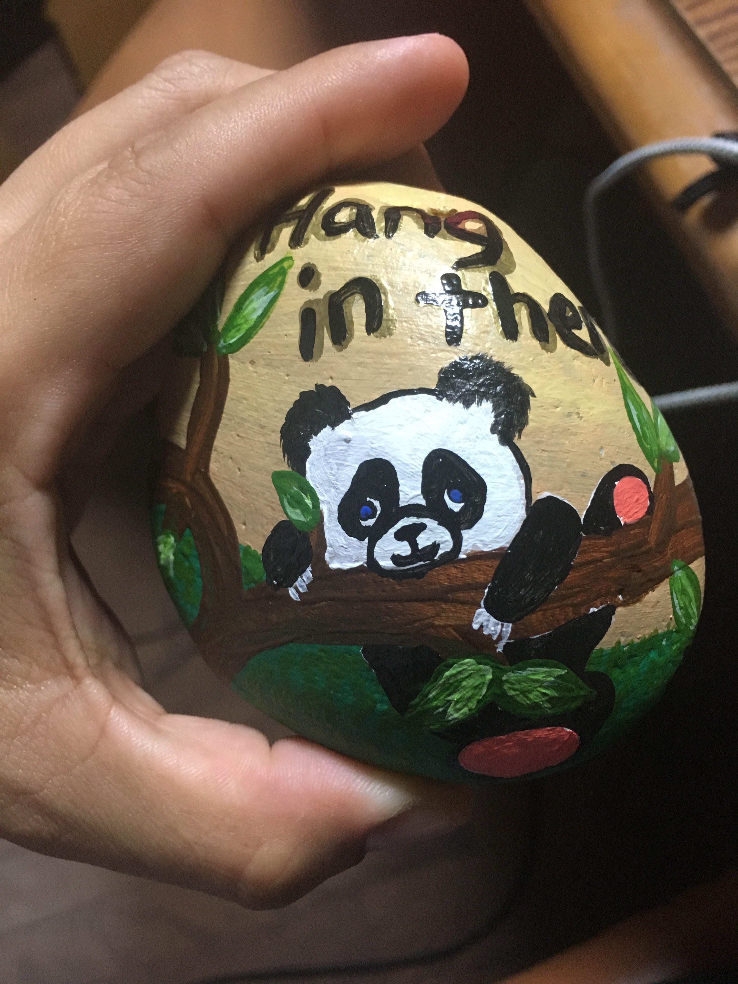 Hang In There Okirocks Panda