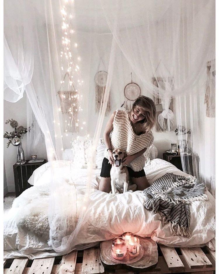 Instagram Post By J U S T I N E O Jan 11 2017 At 851pm UTC Hipster BedroomsBohemian BedroomsBoho RoomModern