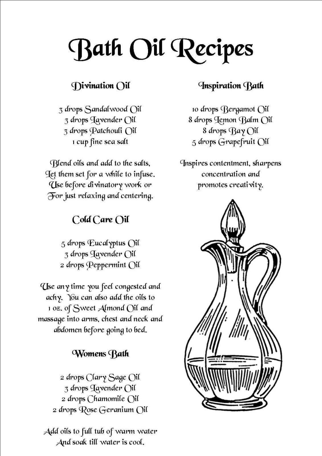 Book of shadows 800 printable pages spells rituals more bath oils fandeluxe Image collections