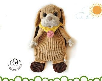 "Photo of Crochet pattern "" Bunny Letta"""