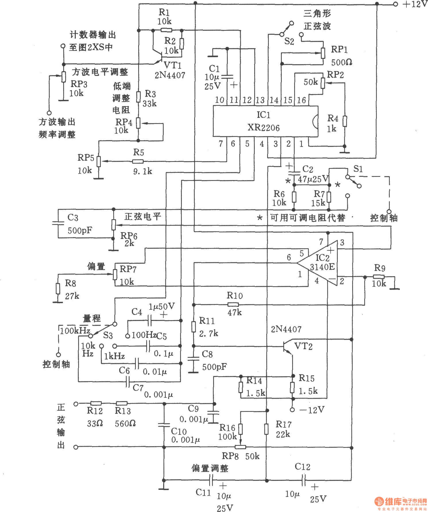 Circuit Diagram Signal Generator