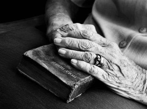 It has been said that a Bible falling apart usually belongs to someone who isn't.  Well worn pages of a Bible tell a beautiful story.