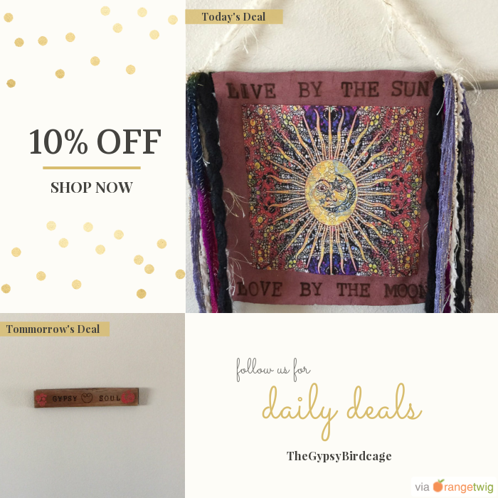 Today Only! 10% OFF this item. Follow us on Pinterest to be the first to see our exciting Daily Deals.  Today's Product: Live by The Sun Love By The Moon wall hanging, Gypsy Home Decor, Original Hand Burned Leather     Picture, bohemian, Shabby Chic, Rustic.  Buy now: https://orangetwig.com/shops/AAAm6G3/campaigns/AACDjZB?cb=2016002&sn=TheGypsyBirdcage&ch=pin&crid=AACDjYu&exid=266693716