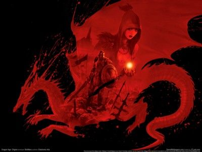 Dragon Age Origins Poster Z1gw10140 Dragon Age Origins Dragon Age Red Dragon