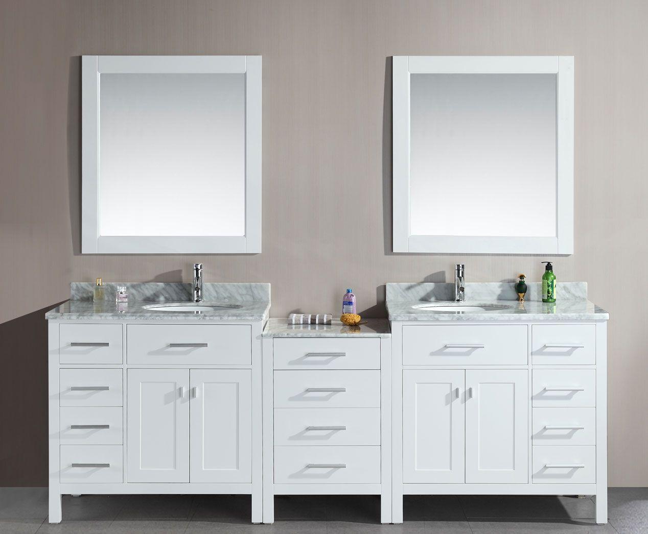 Home Depot Double Vanity For Stylish Bathroom Vanity Decor Home - Double sink bathroom vanity clearance for bathroom decor ideas