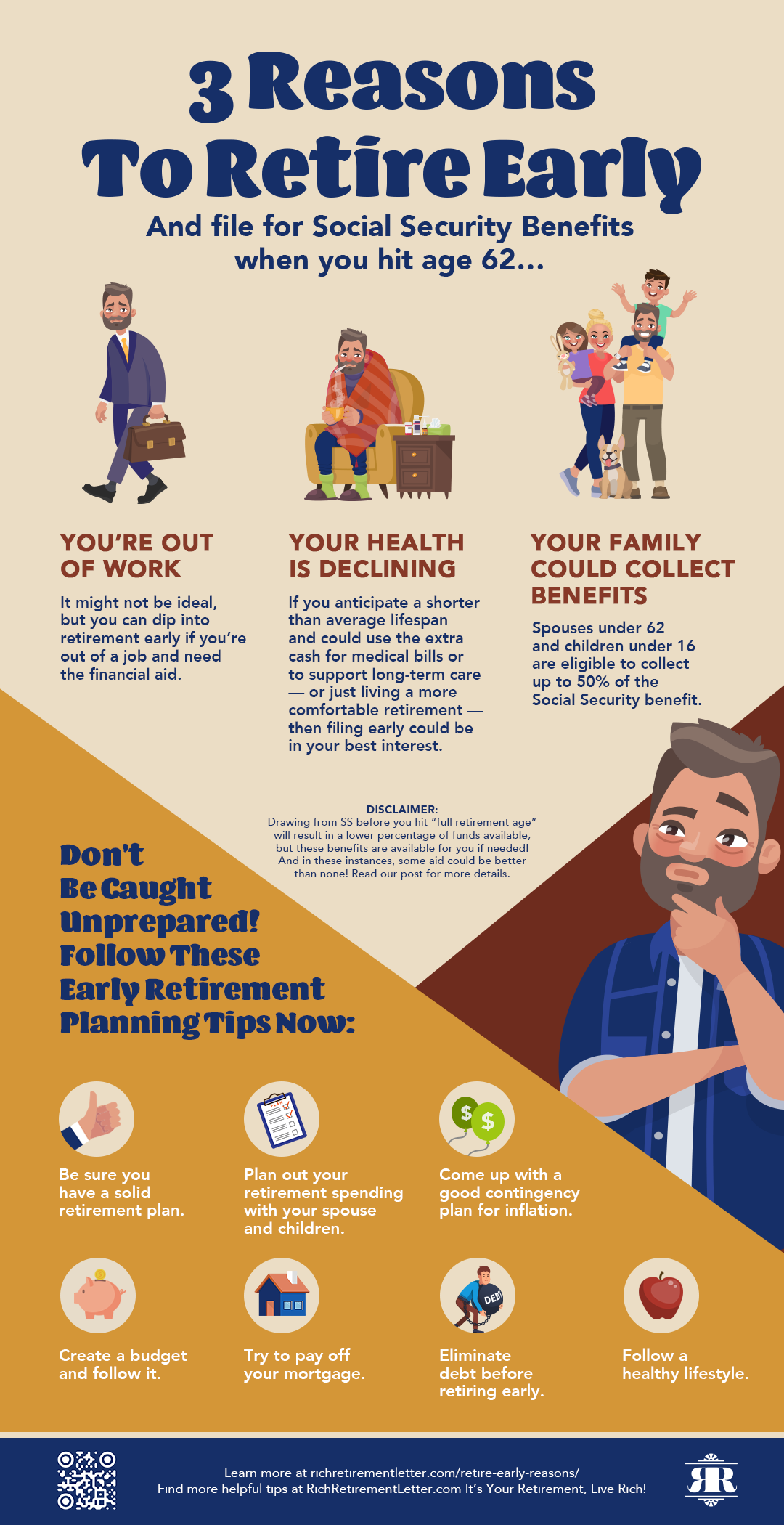 3 Reasons To Retire Early I In 2020 Early Retirement Finance