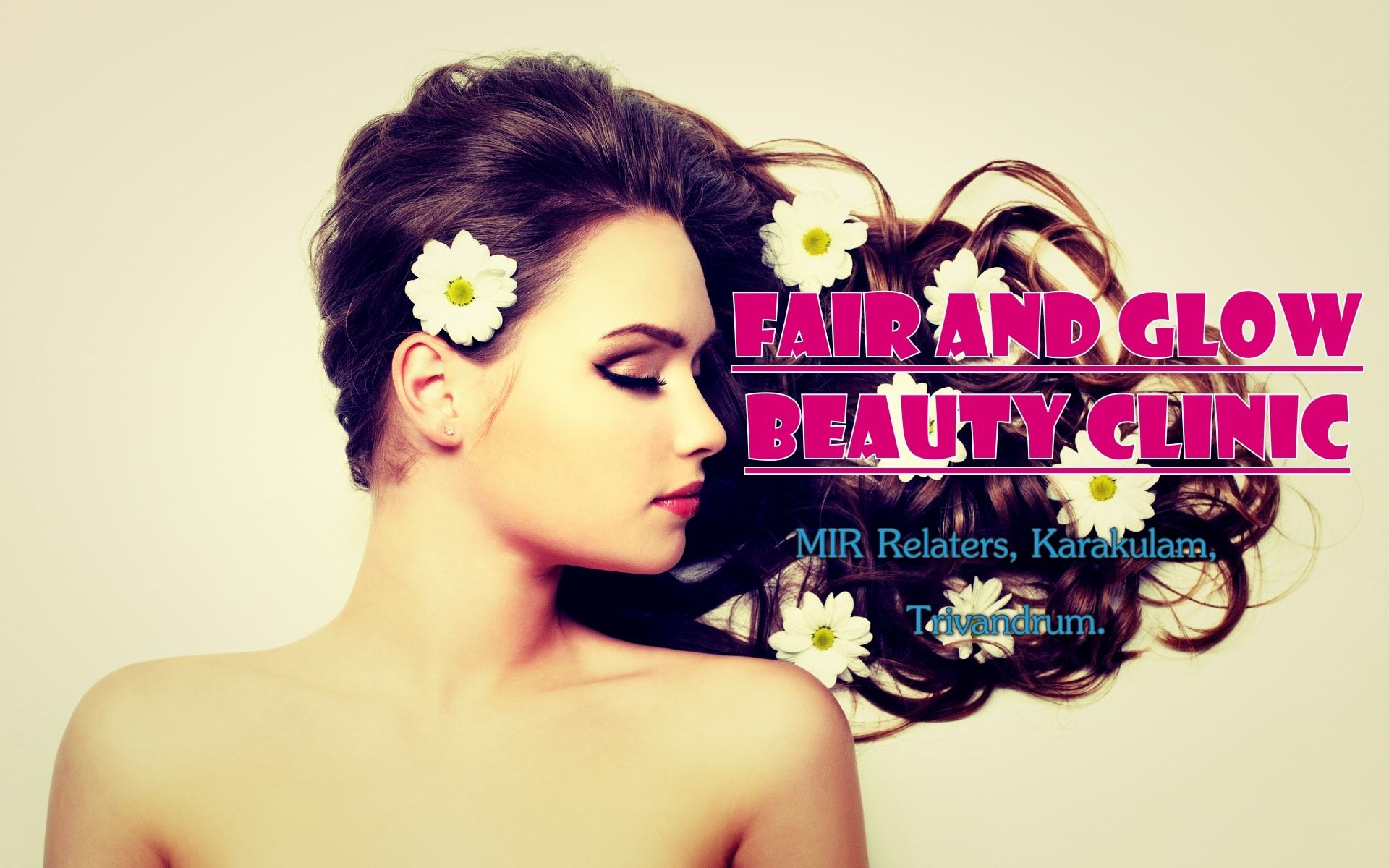 Fair and Glow Beauty Clinic Trivandrum .Bridal makeup