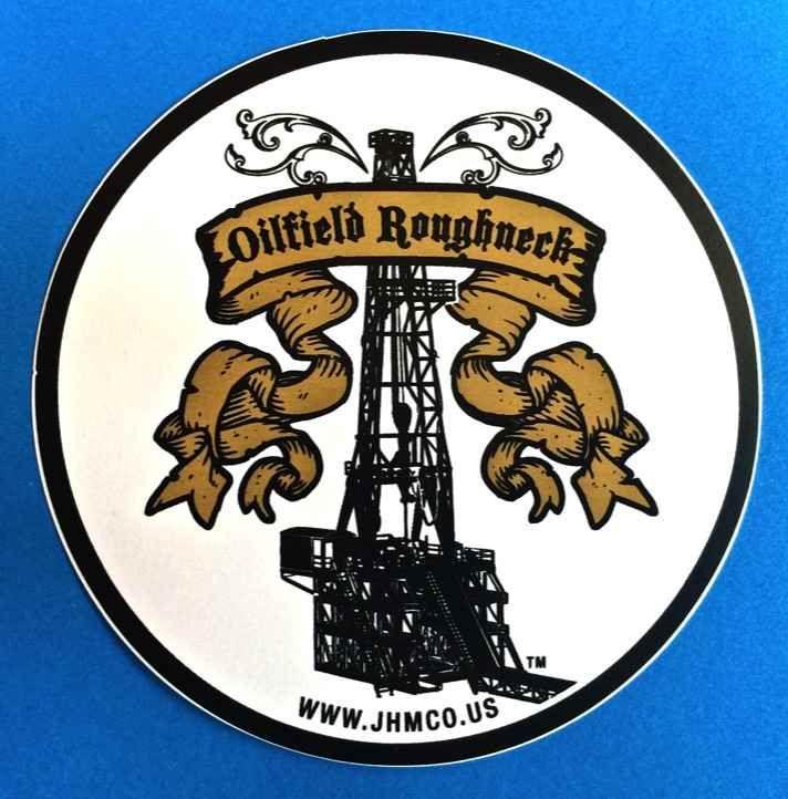 Oil pump jack derrick CAN YOU HANDLE A BIG RIG vinyl decal sticker CAR TRUCK