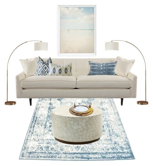 Sand And Sea By Piplusc Liked On Polyvore Featuring Interior Interiors