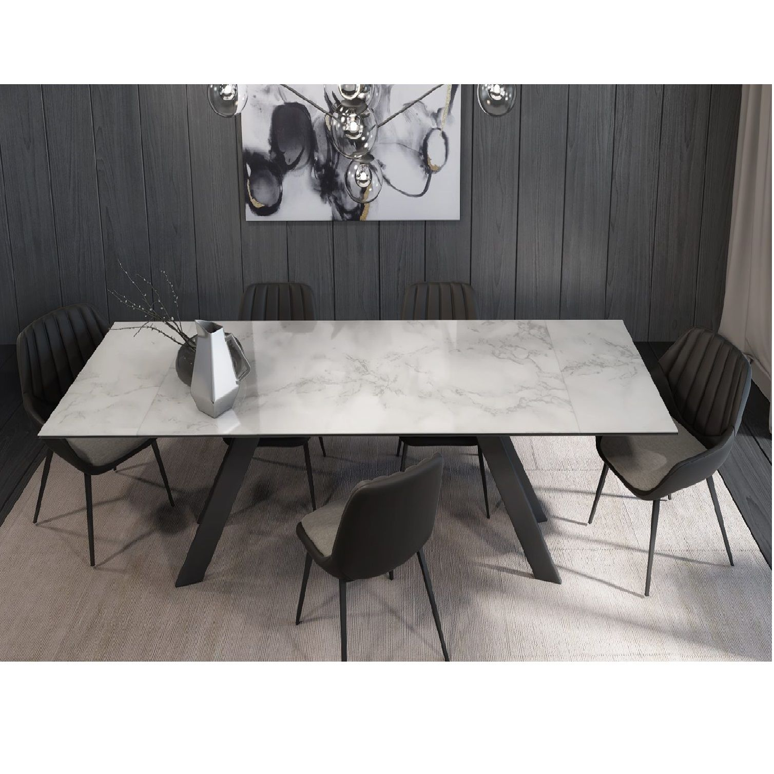 Oliver Extendable Dining Table テーブル