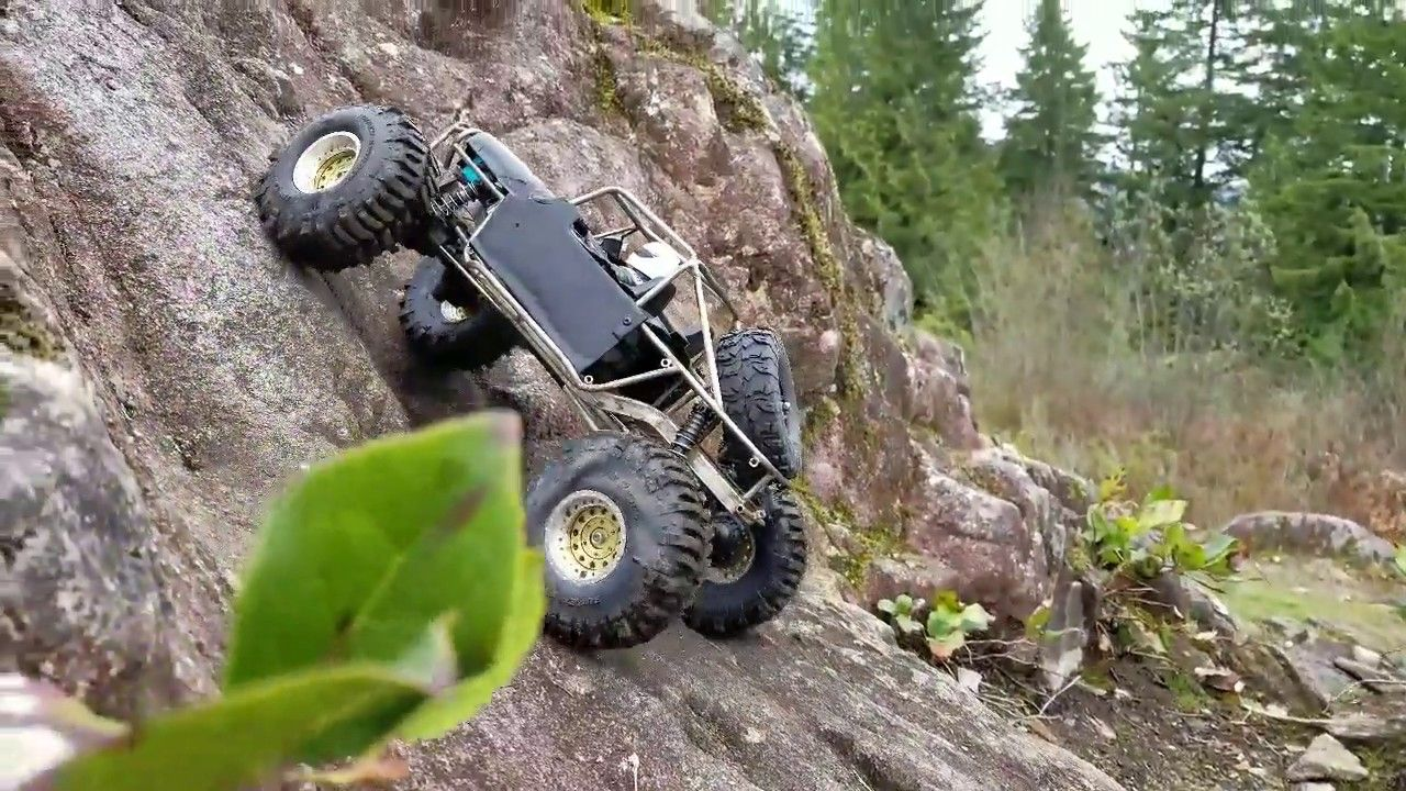 RC Rock Crawler 1:10 Accessories Wooden Box for Axial SCX10 Tamiya TRX-4 BS