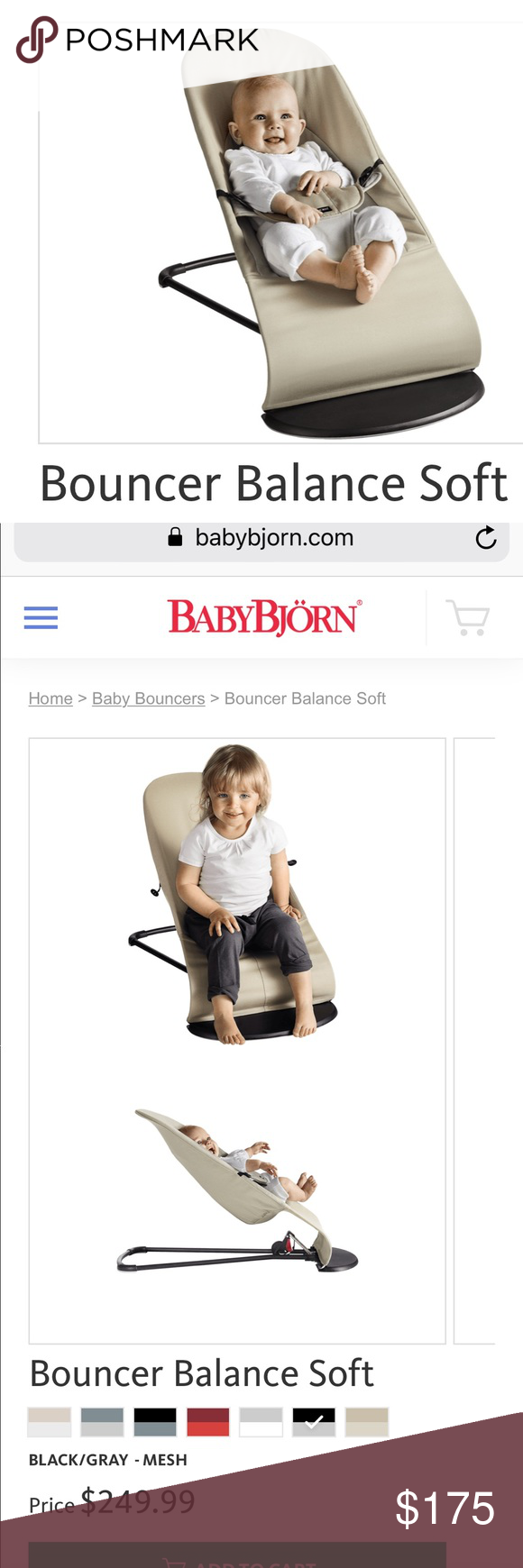 Baby Bjorn Bouncer Balance Soft With Images Baby Bjorn Bouncer Baby Bjorn Baby Bouncer