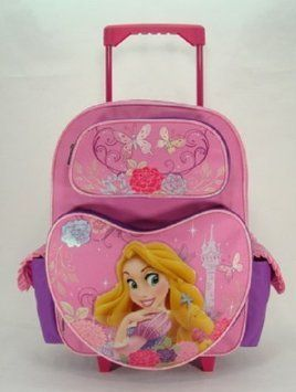 0e048e851f Rolling Backpack Disney Rapunzel Beauty of Light 16 Large School Bag --  Read more reviews of the product by visiting the link on the image.