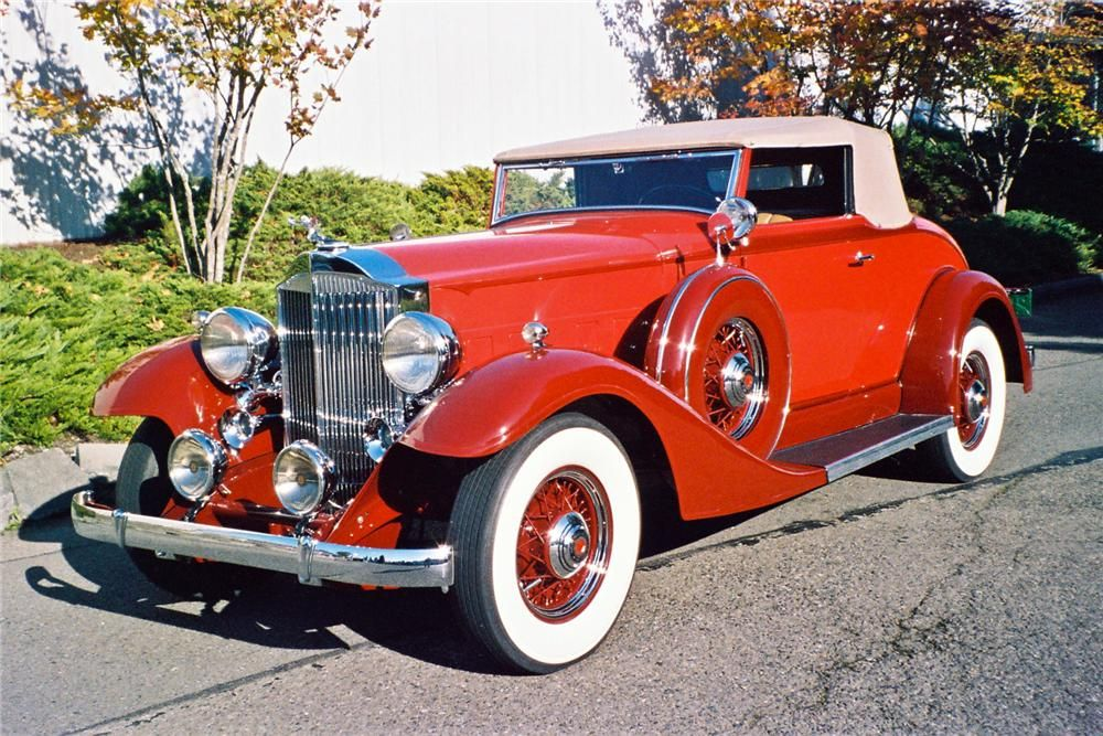 1933 PACKARD COUPE ROADSTER