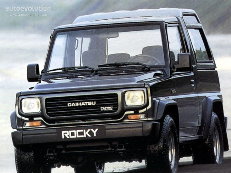 Daihatsu Rocky Wagon Specs Photos 1988 1989 1990 1991 1992