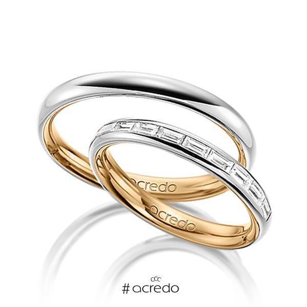 1dee8ba43563 Alianzas de boda con diamantes