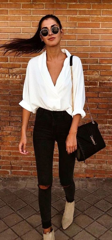 Timeless Black and White Outfits 1