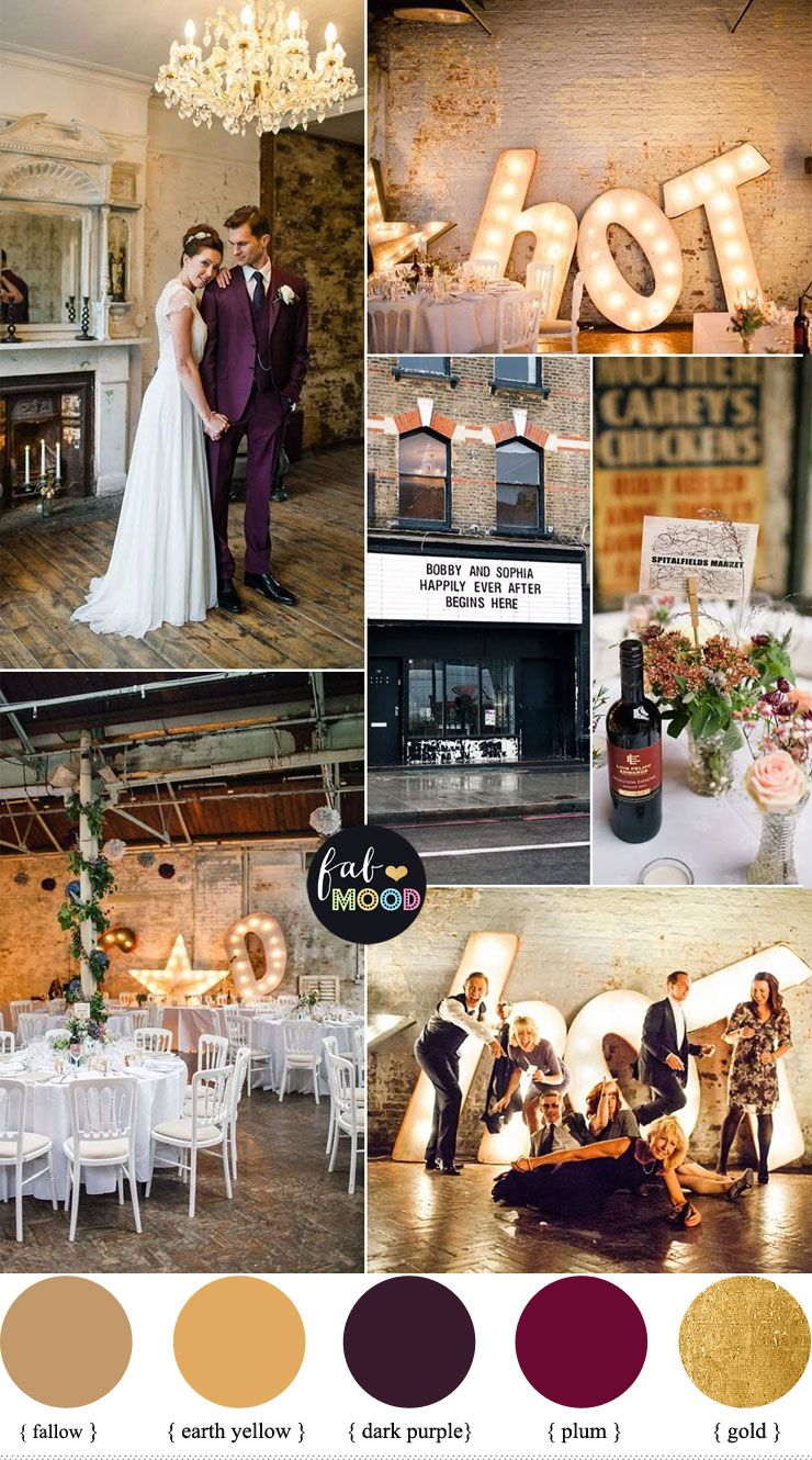 1920s Wedding Theme { Gold and Plum wedding colours } | 1920s wedding  theme, Wedding theme colors, Jazz wedding