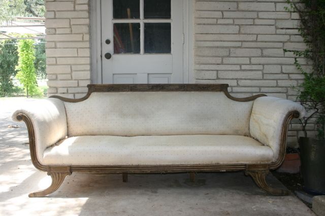 1940s Fainting Couch | Duncan Phyfe Sofa U2013 Sofas U2013 Compare Prices, Reviews  And Buy